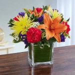 DIY Floral Class 2019 flower arrangement